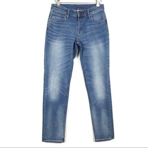 united kingdom enjoy complimentary shipping hot-selling clearance Muji Boy Fit Stretch Cropped Jeans Womens Size 24